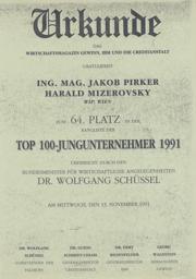 1991 64 von Top 100 Jungunternehmern Mizerovsky
