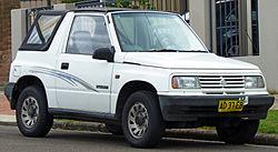 1992–1994 Suzuki Vitara (SE416C Type2) JX softtop (Australia)