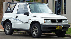 Suzuki sidekick wiki