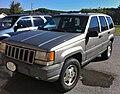 1997–1998 Jeep ZJ Grand Chrerokee TSi - silver WV.jpg