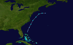 1997 Atlantic subtropical storm 1 track.png