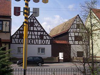 Altlußheim - Frankish homestead