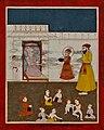 19th century Janam Sakhi, Guru Nanak joins school.jpg