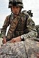 1st Lt. John Tidwell Treats a Simulated Casualty (7645934434).jpg