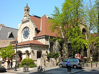 First Unitarian Church of Philadelphia - Similar view in 2010.