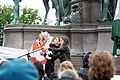 2-Meter-Abstand Demo für Kunst und Kultur Wien 2020-05-29 06 Maya Unger Manuela Linshalm Resi Resch.jpg