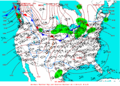 2003-01-25 Surface Weather Map NOAA.png