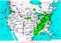 2003-01-29 Surface Weather Map NOAA.png