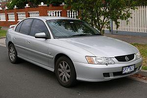 Holden Commodore (VY) - Image: 2003 Holden Commodore (VY II) 25th Anniversary sedan (2016 01 04) 01