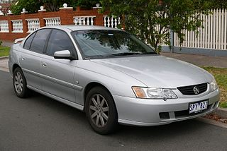 Holden Commodore (VY) Motor vehicle