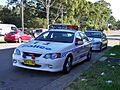 2004 Ford BA Falcon XR8 & 2003 Holden VY Commodore SS - NSW Police (5498510078).jpg