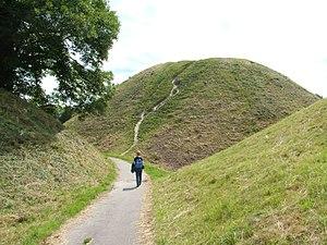 Thetford Castle - Image: 2004 thetford 05