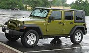2007 Jeep Wrangler Unlimited hard top