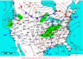 2009-02-11 Surface Weather Map NOAA.png