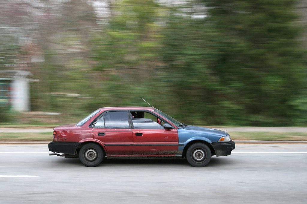 Rust Driving Cars