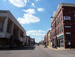Bridge Street, downtown Chippewa Falls