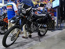 2010 Suzuki DRZ400 at the 2009 Seattle International Motorcycle Show 2.jpg