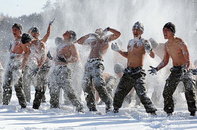 Soldaten aus Nordkorea im Schnee, CC BY-SA 2.0