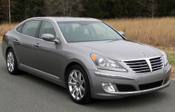 Hyundai Equus Signature (AS) 2012