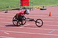 2013 IPC Athletics World Championships - 26072013 - Catherine Debrunner of Switzerland during the Women's 400M - T53 second semifinal 4.jpg