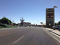 2014-06-11 10 15 09 View east along Wendover Boulevard (Interstate 80 Business Loop) at the Utah-Nevada state line in West Wendover, Nevada.JPG