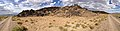 2014-07-18 17 03 20 Panorama from the edge of the Black Rock Lava Flow, Nevada.JPG