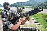 2015.9.11. 해병대 1사단-공용화기사격 11th Sep. 2015. ROK 1st Marine Division - a crew served weapon shooting (21607370571).jpg