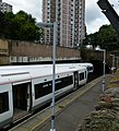 2015 London-Woolwich, Woolwich Dockyard railway station 02.JPG
