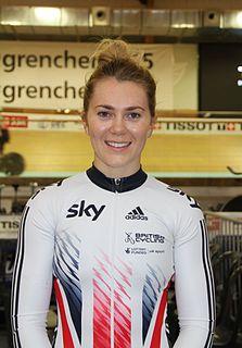 Jessica Varnish English racing cyclist