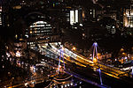 2016-02 Charing Cross railway station by night.jpg