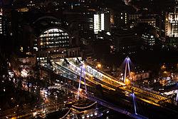 2016-02 Charing Cross railway station by night.jpg