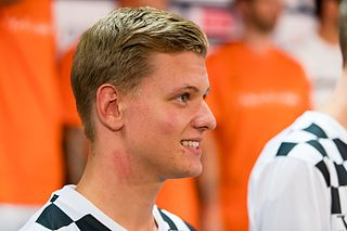 Mick Schumacher German race driver