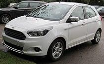 2017 Ford KA+ Zetec 1.2 Front.jpg