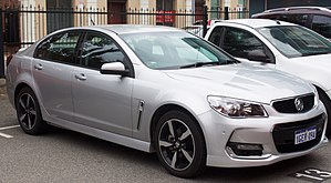 Holden Commodore - 2017 Holden Commodore (VF II) SV6 Sedan