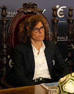 2019 04 18 Bosi cs Finale Coppa Italia Femminile-7 (46912099104) - Rita Guarino (cropped).jpg