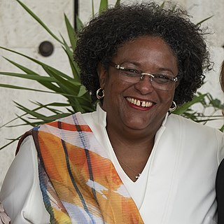 Mia Mottley Prime Minister of Barbados