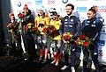 2020-03-01 Flower Ceremony Skeleton Mixed Team competition (Bobsleigh & Skeleton World Championships Altenberg 2020) by Sandro Halank–011.jpg