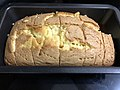 2020-04-23 19 14 35 Freshly baked pound cake in the Franklin Farm section of Oak Hill, Fairfax County, Virginia.jpg