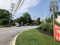 2020-06-22 16 25 00 View north along Maryland State Route 607 (Hog Neck Road) at Maryland State Route 177 (Mountain Road) in Lake Shore, Anne Arundel County, Maryland.jpg