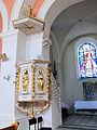 230313 Pulpit of Church of Saint Dorothy in Cieksyn - 01.jpg