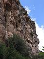 244 Cingle del Fitó des del camí de l'Ermita, Sant Miquel del Fai.JPG