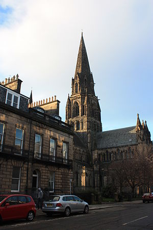 Montagu Cotterill - Image: 24 Manor Place next to St Mary's Episcopal Cathedral in Edinburgh