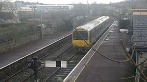 Clonmel railway station - 2726 Arrives from Limerick junction