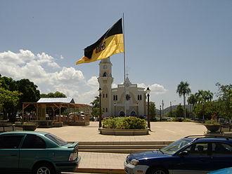 Yauco, Puerto Rico - Yauco's town plaza (Plaza Fernando Pacheco)