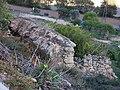 313 Paret de marge a Foradada, sota la roca Foradada.JPG