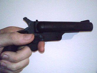 Cobray Company - A 357 Magnum derringer.