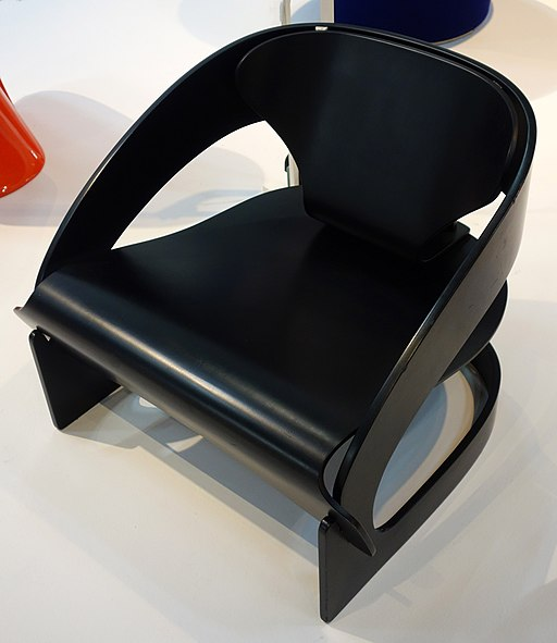 4801 armchair, Joe Colombo - MNAM