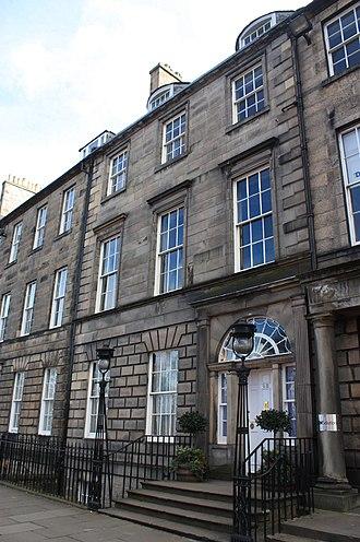 Francis Brodie Imlach - 48 Queen Street, Edinburgh, the offices of Francis Brodie Imlach
