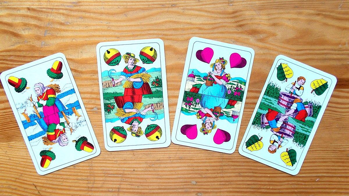 Schnauz Kartenspiel