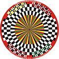 4 Players Individual Circular Chess variant in 6 Players Circular Chess invented by Hridayeshwar Singh Bhati.JPG